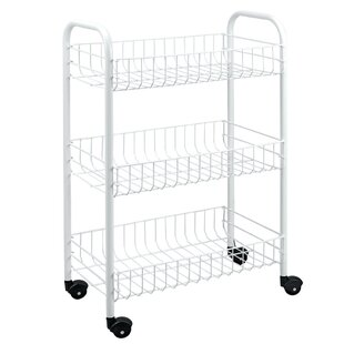 Attrayant 3 Tier Rolling Utility Cart
