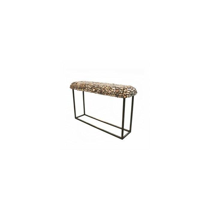 Bellini Modern Living Pebble 55 Console Table Wayfair Ca