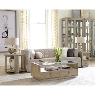 Almazan 3 Piece Coffee Table Set