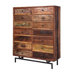 Etonnant Indian 14 Drawer Accent Chest