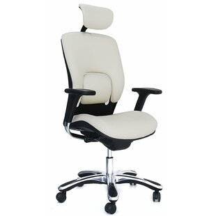 Ergonomic Genuine Leather Task Chair