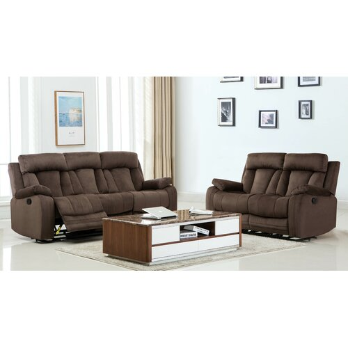 Red Barrel Studio Everglade Reclining 2 Piece Living Room Set Set Of 2 Luyesib Batehe