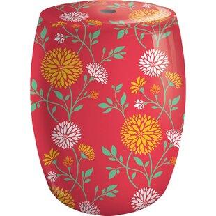 Read Reviews Chrysanthemum Garden Stool ByEvergreen Flag & Garden