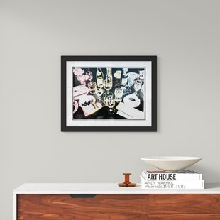 Modern Contemporary Gold Framed Art Allmodern