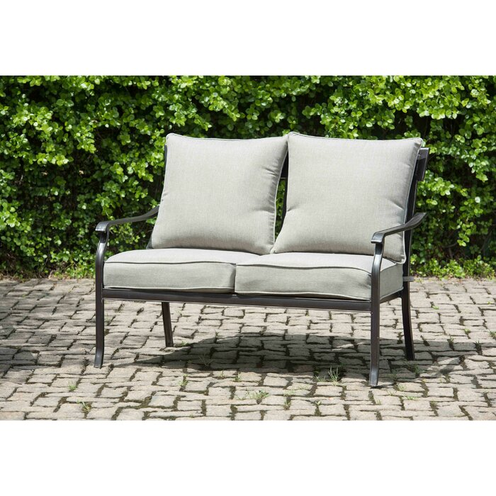 Excellent Beeson Loveseat With Cushions Ncnpc Chair Design For Home Ncnpcorg