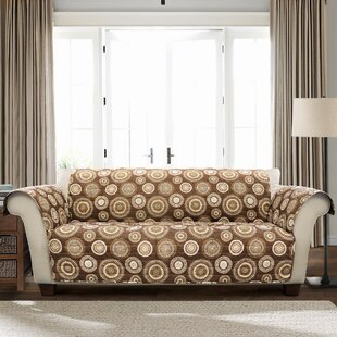 Single T-Cushion Loveseat Slipcover