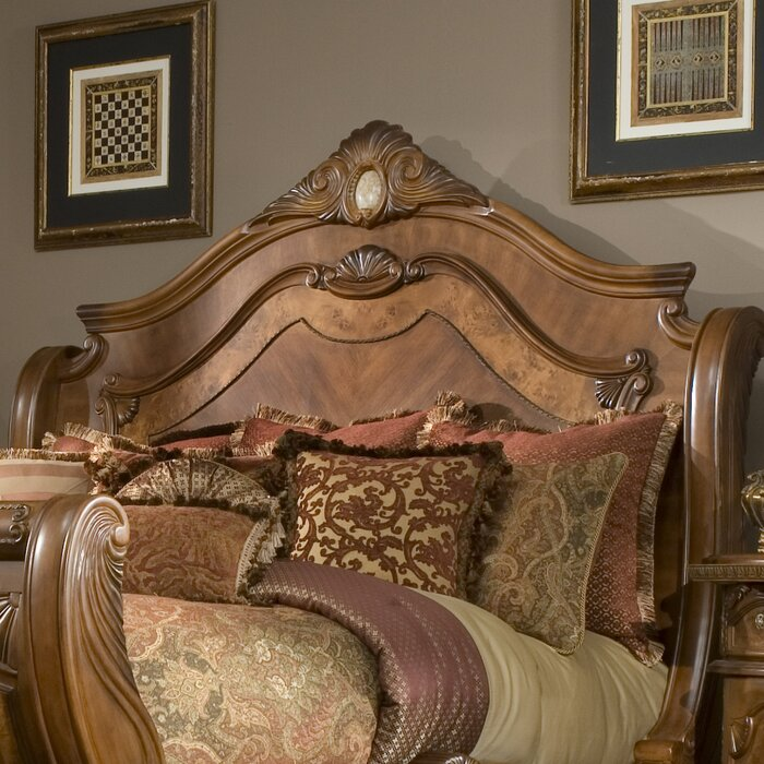 Michael Amini Cortina Panel Configurable Bedroom Set & Reviews ...