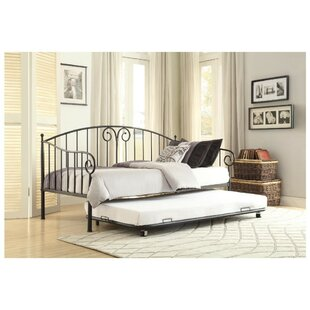 Ilford Metal Daybed with Trundle Fleur De Lis Living