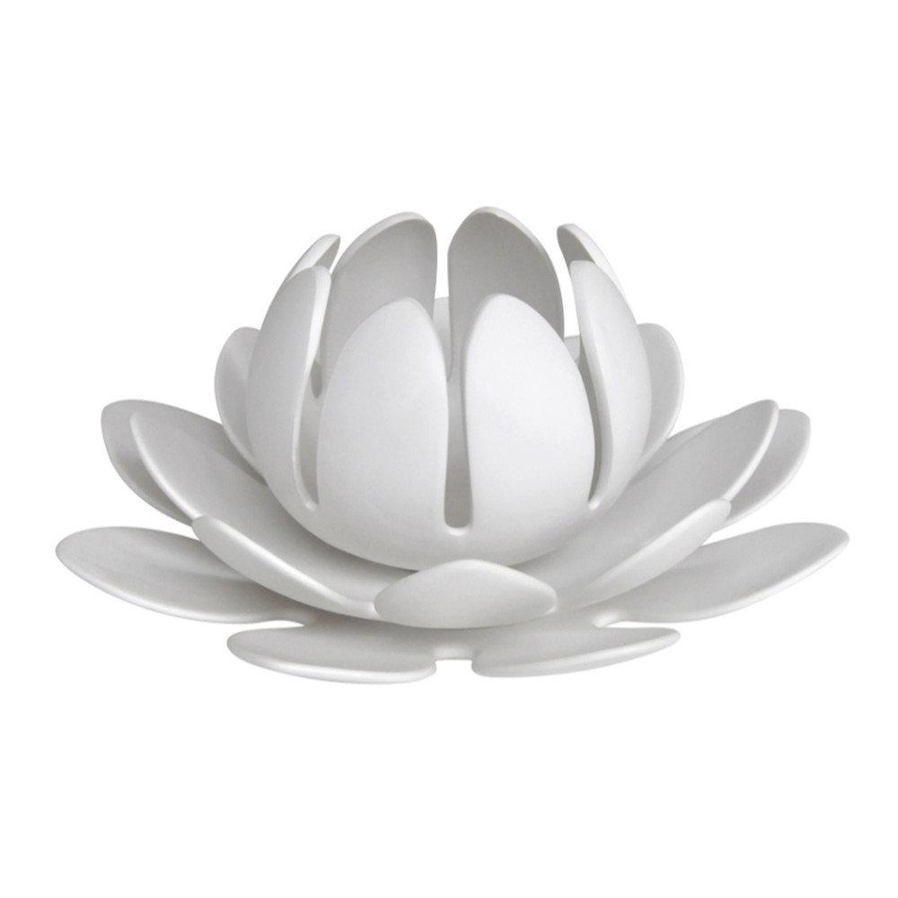 Bloomsbury market mebane lotus flower ceramic tealight holder wayfair izmirmasajfo