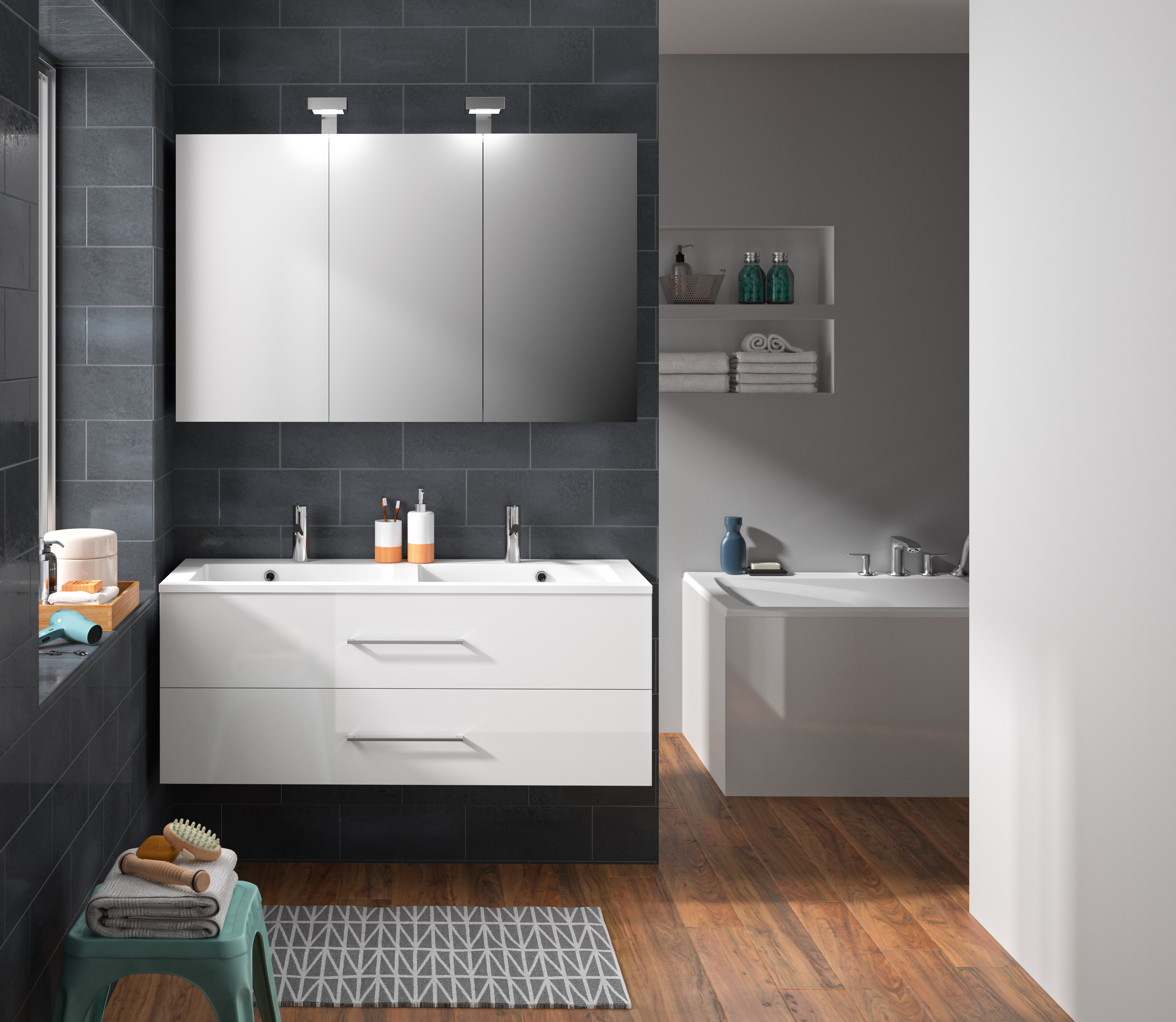 Macdougall 6 mm Bathroom Furniture Suite