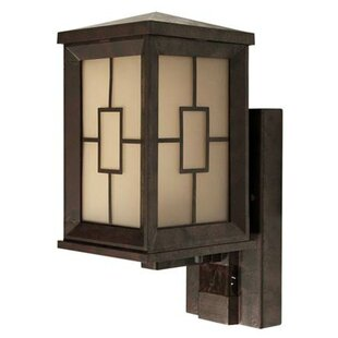 Price comparison Motion Activated 1-Light Outdoor Sconce By Heath-Zenith