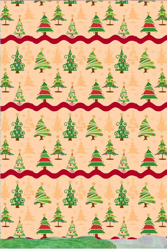 O Christmas Tree Holiday Print Shower Curtain Set from Wayfair!