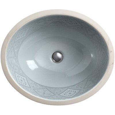 artist editions caravan oval undermount bathroom sink