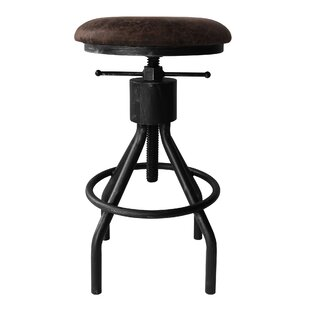Ellicott Adjustable Height Swivel Bar Stool