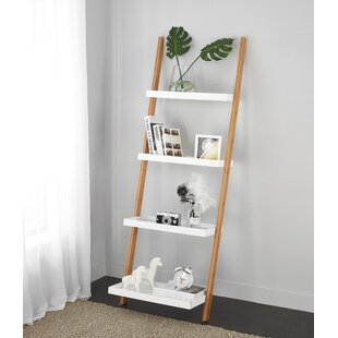 Bamboo Ladder Bookcase