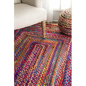 khan handbraided multi area rug