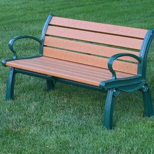 Heritage Recycled Plastic Park Bench