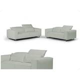 Giadia Leather Configurable Living Room Set by Bellini Modern Living