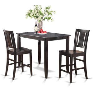 Lightner 3 Piece Counter Height Dining Se..