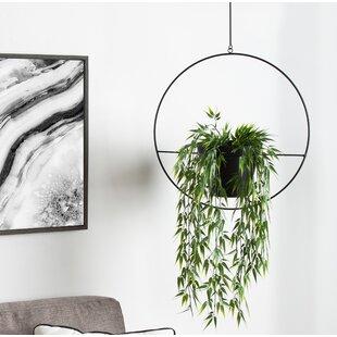 Black Hanging Basket Planters You Ll Love In 2021 Wayfair