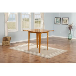 Hobert Solid Wood Dining Table Charlton Home