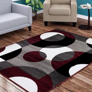Shop For Allison Burgundy Area Rug By Ebern Designs