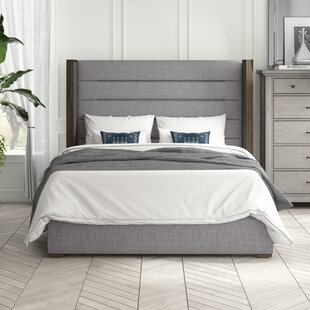 Reviews Hank Upholstered Mid Panel Bed by Brayden Studio Reviews (2019) & Buyer's Guide
