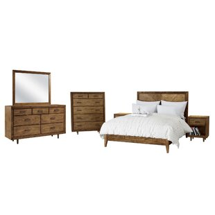 Ames Platform 6 Piece Bedroom Set