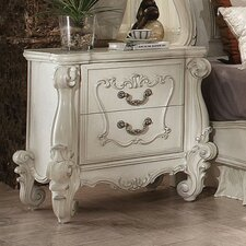 Queenies 2 Drawer Nightstand by A&J Homes Studio