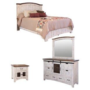 Coralie Panel Configurable Bedroom Set