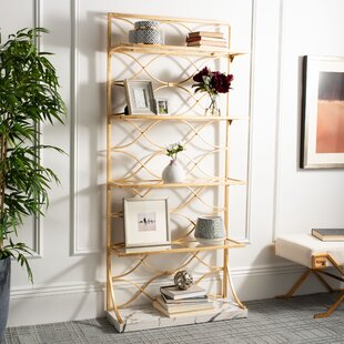 Best Evalyn Etagere Bookcase by Everly Quinn