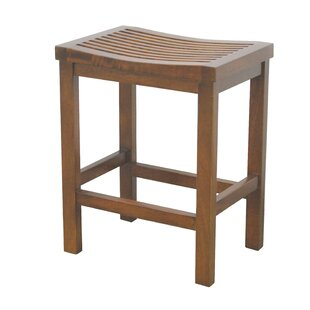 Yuliya Slatted 23.5 Bar Stool