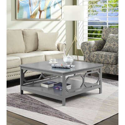 Beachcrest Home Sager Coffee Table  Color: Gray