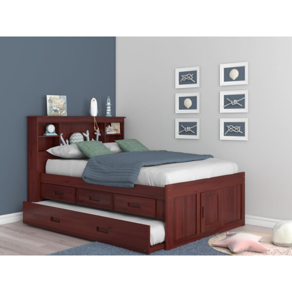 8a9238f03b24 Queen Captains Bed 6 Drawers