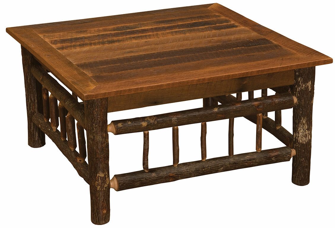 Merveilleux Fireside Lodge Hickory Coffee Table | Wayfair