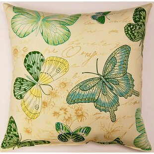 Papillon Capri KE Throw Pillow