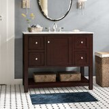 Binne 42 Single Bathroom Vanity Set by Three Posts