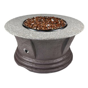 Havana III Resin Propane Fire Pit Table by Tretco