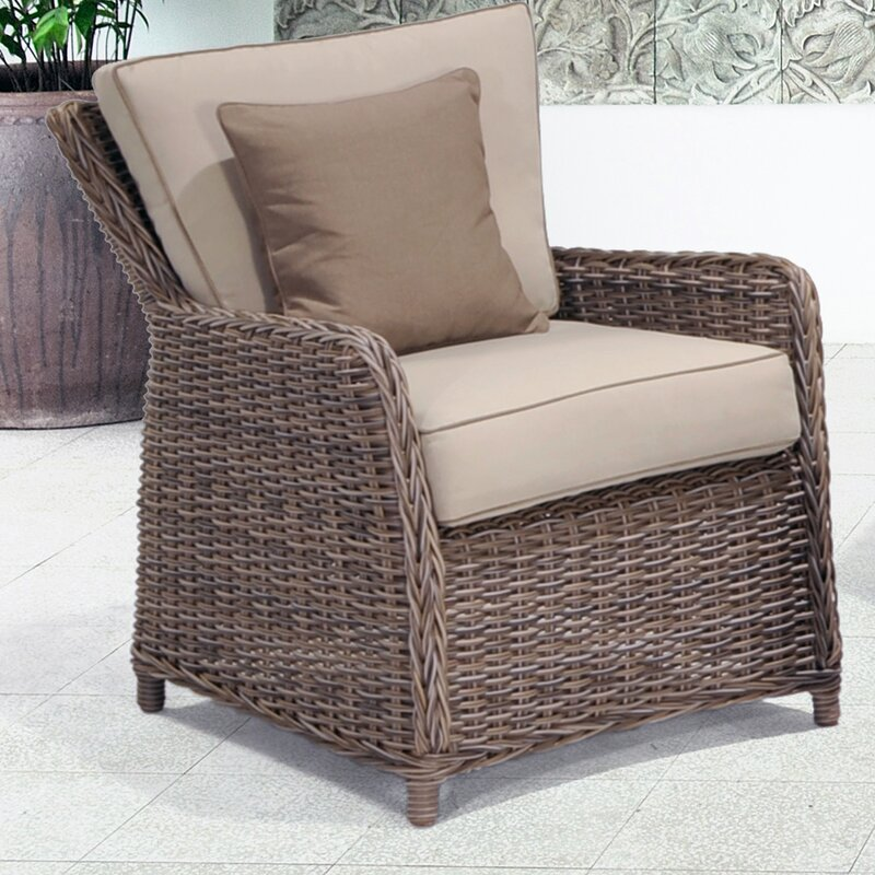 Lovely Kameron Lounge Chair With Cushion