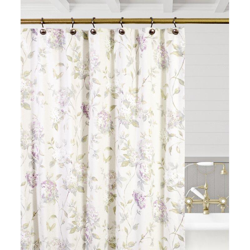 Christmas Tree Store Erie Pa: Charlton Home Erie Hydrangea Single Shower Curtain
