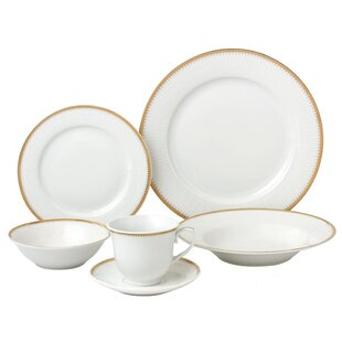 24 Piece Dinnerware Set, Service for 4