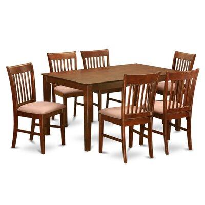 Smyrna 7 Piece Dining Set Charlton Home