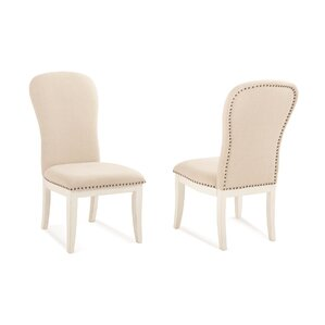 South Mountain Farmhouse Upholstered Dining Chair (Set of 2) by Panama Jack Home