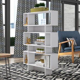 Read Reviews Cammack Standard Bookcase by Ivy Bronx