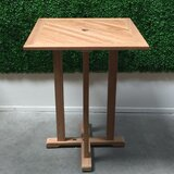 Crider Solid Wood Bar Table