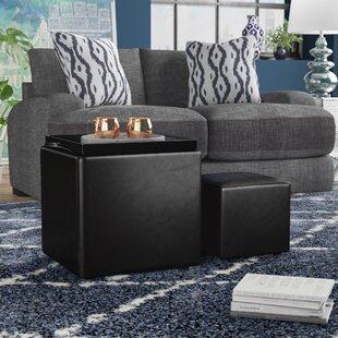 Marla 2 Piece Cube Ottoman Set
