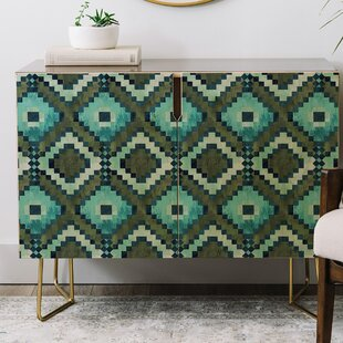 Schatzi Boho Diamonds Credenza East Urban Home