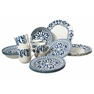 Royal Ornate 16-Piece Dinnerware Set, Service for 4