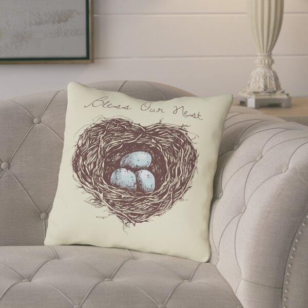 Amazing Bless Our Nest Pillows Wayfair Theyellowbook Wood Chair Design Ideas Theyellowbookinfo