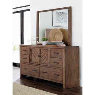 Pasha 6 Drawer Double Dresser